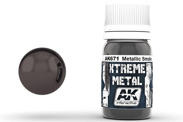 Xtreme Metal Metallic Smoke 30ml Bottle