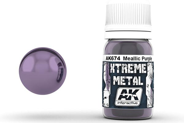 Xtreme Metal Metallic Purple 30ml Bottle