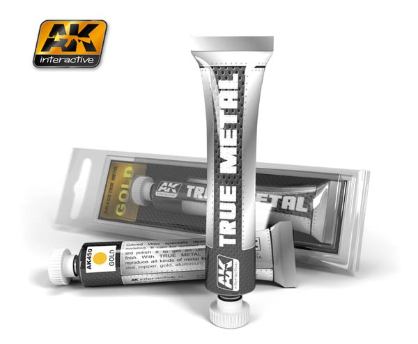 True Metal Wax Gold 20ml Tube