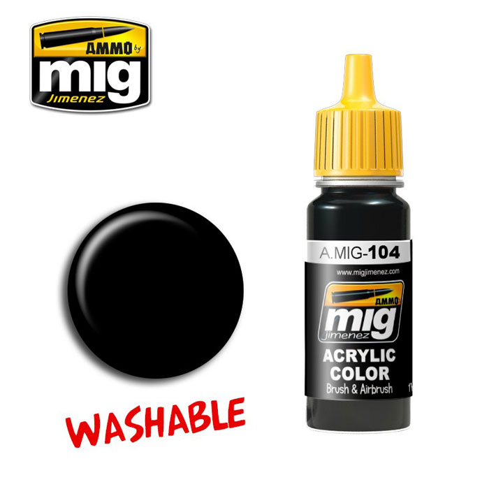 Washable Paint- Black