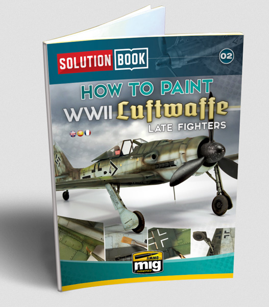 WWII Luftwaffe Late Fighters Book