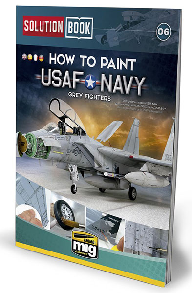 USAF Navy Grey Fighters Solution Book
