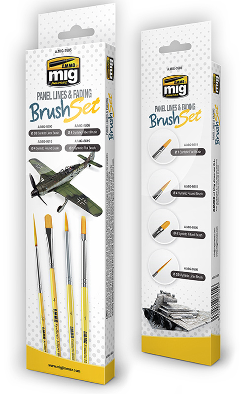 Panel Lines and Fading Surfaces Brush Set