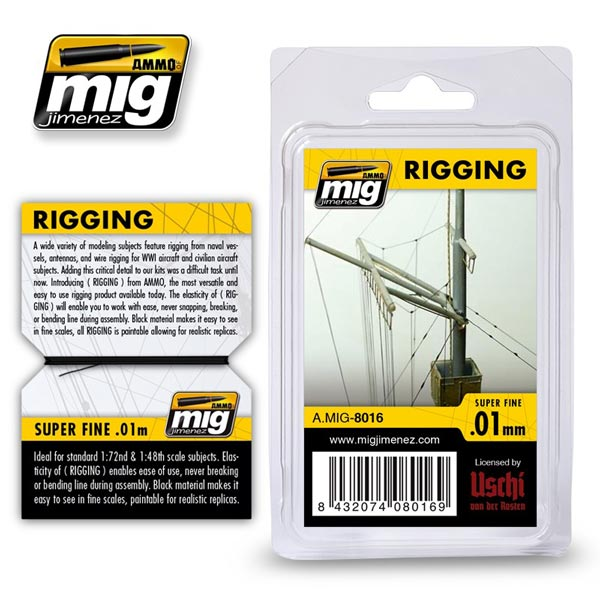 Rigging - Super Fine 0.01mm