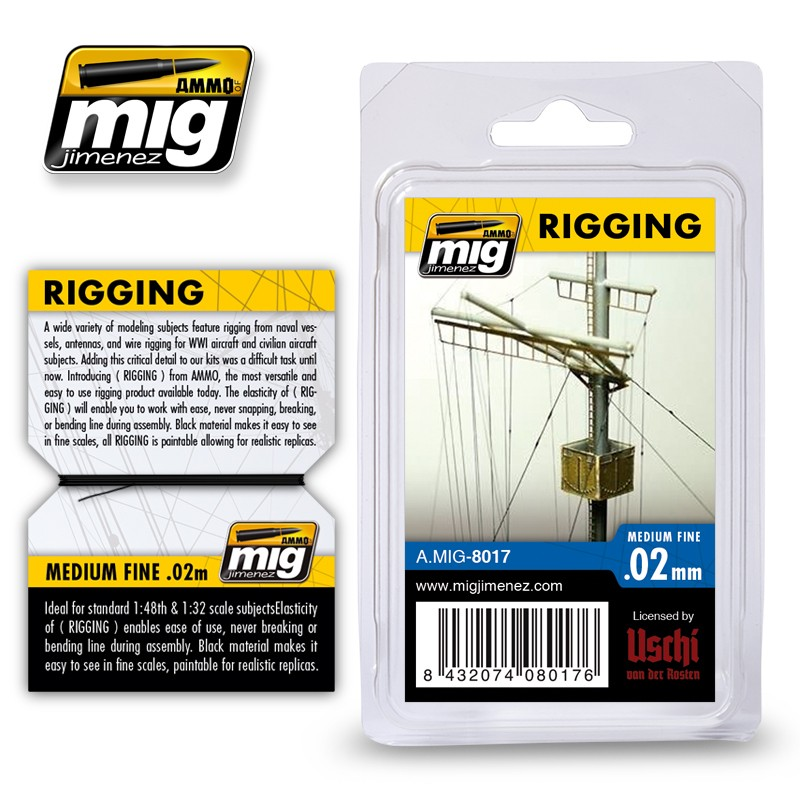 Rigging - Medium Fine 0.02mm