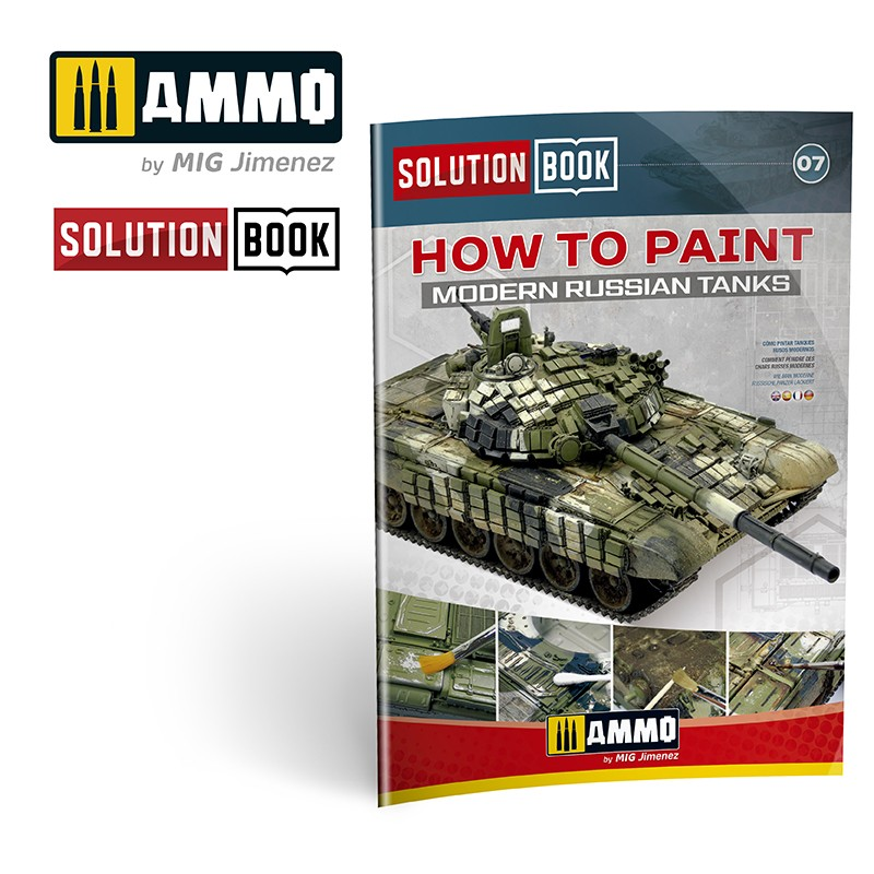 Solution Book: How To Paint Modern Russian Tanks