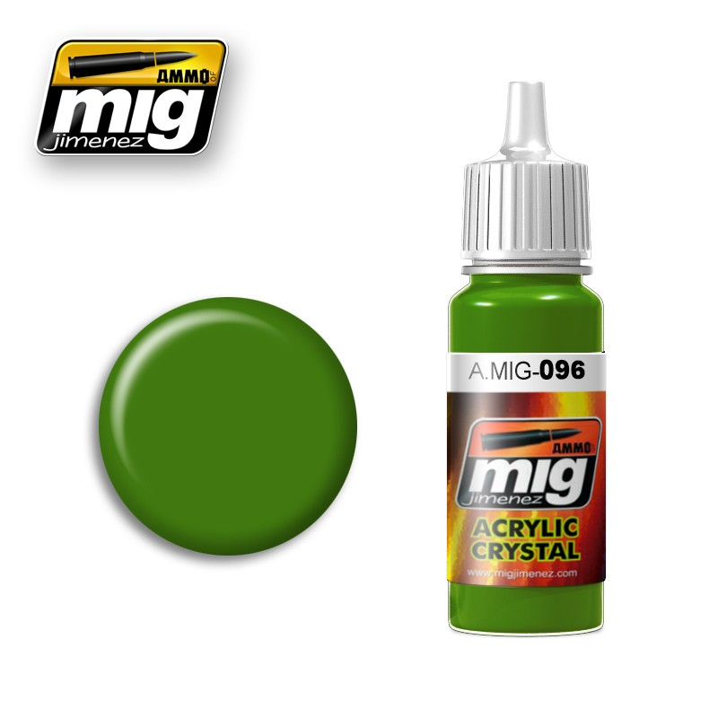 Crystal Periscope Green Acrylic Paint 17ml. Bottle