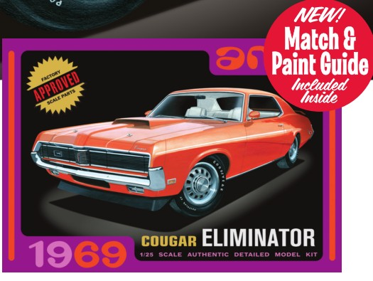 1969 Cougar Eliminator Car (White)