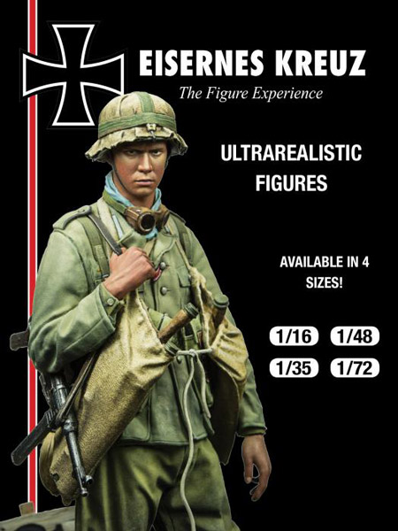 Eisernes Kreuz Series: D.A.K. Panzer Pionier, 1942 (1/35) - ONLY 1 AVAILABLE AT THIS PRICE