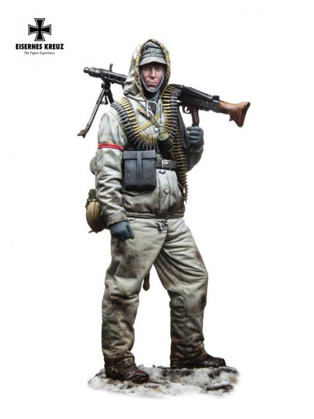 Eisernes Kreuz Series: MG 42 SS Schütze, 1944 (1/72) - ONLY 1 AVAILABLE AT THIS PRICE