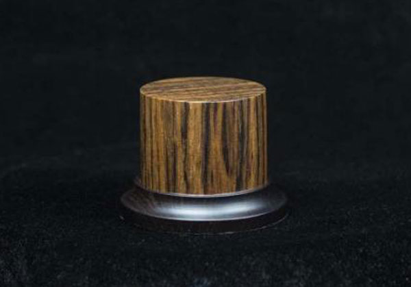Noble Wood Ovangkol Round Base, 52x50mm