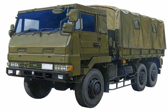 Japan Ground Self Defense 3.5t Cargo Truck