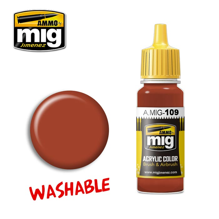 Washable Paint- Rust