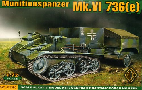 Ammo Carrier on Mk VI 736(e) Chassis