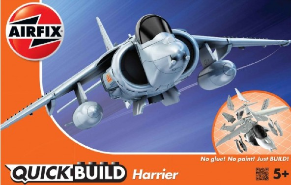 Quick Build BAe Harrier Aircraft (Snap)