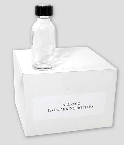 Empty 1oz. Glass Bottles - Alclad Lacquer Bottles