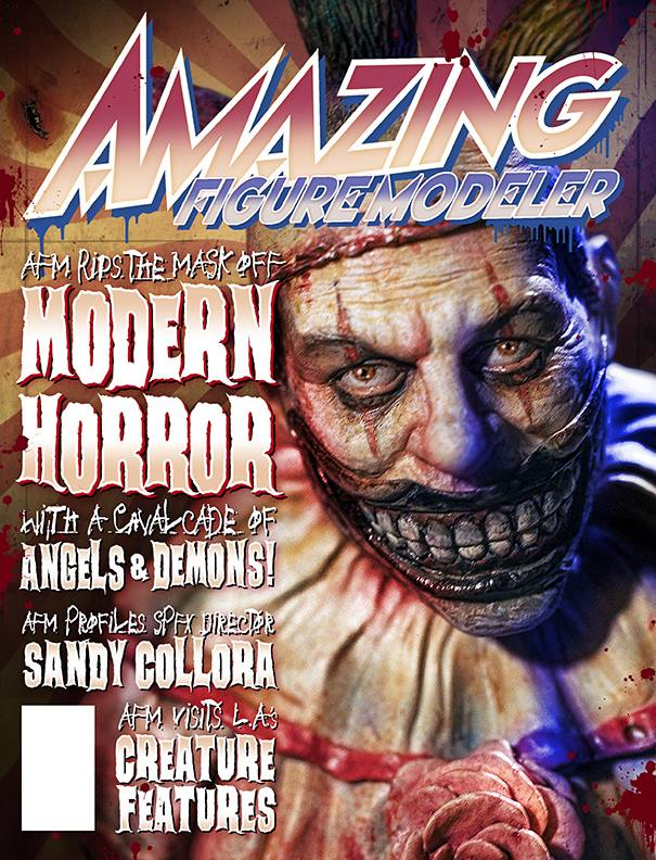 Amazing Figure Modeler no. 61 Modern Horror Issue