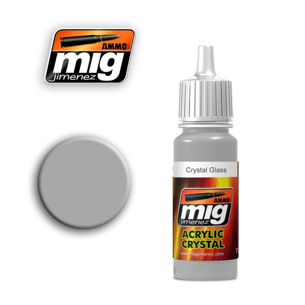 Crystal Glass Acrylic Paint  17ml. Bottle