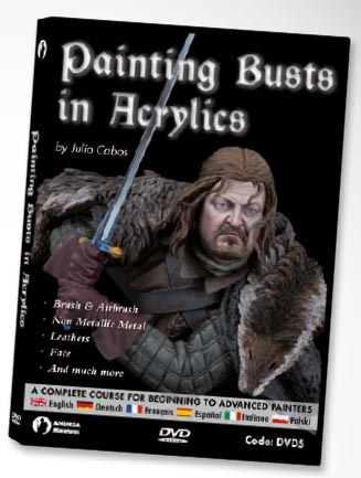 Painting Busts in Acrylics DVD5