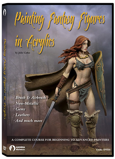 Andrea DVD- Painting Fantasy Figures In Acrylics