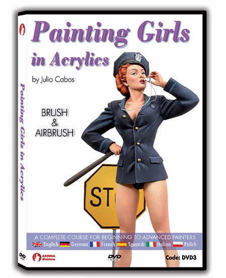 Andrea DVD- Painting Girls in Acrylics
