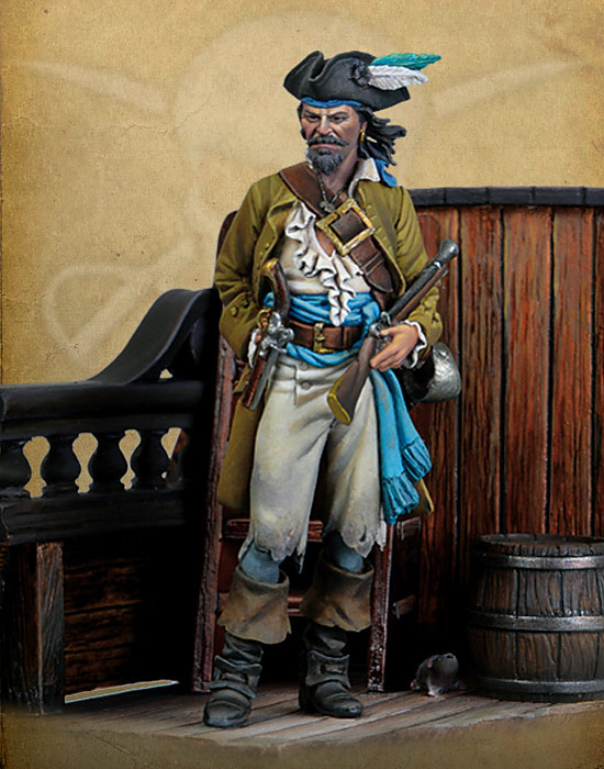 Pirates Of The Caribbean- Blunderbuss Privateer, 1720