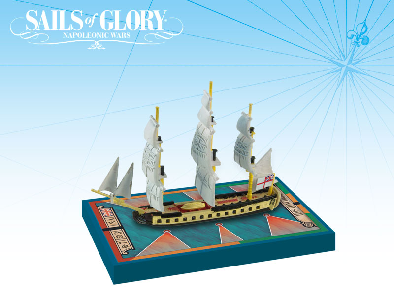 Sails of Glory: 32-guns Concorde Class Frigates - Sirena 1793