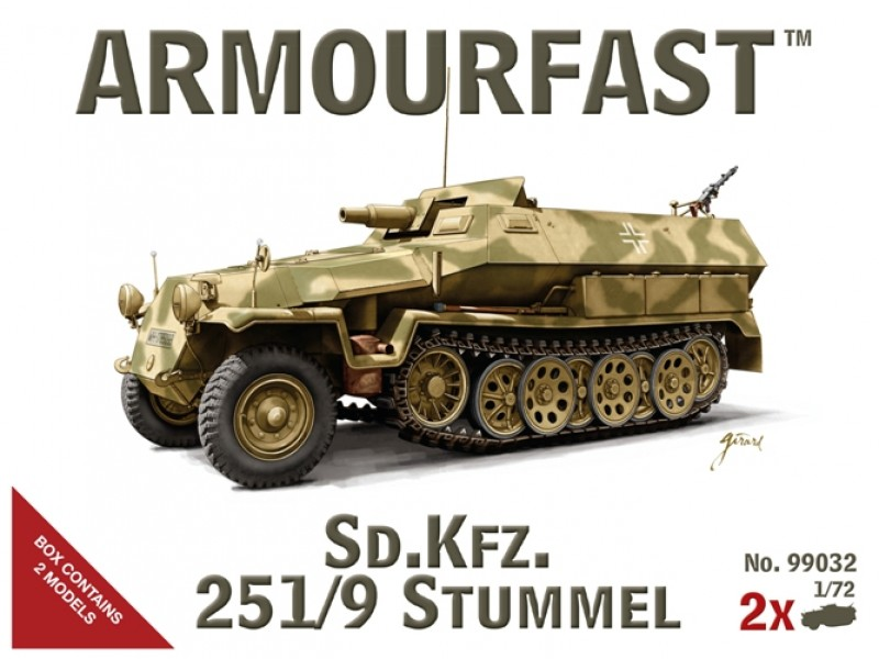 WWII German Sd.Kfz. 251/9 Stummel
