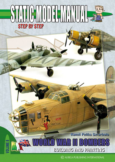 Static Model Manual 8: World War II Bombers-Building and Painting - ONLY 1 AVAILABLE AT THIS PRICE