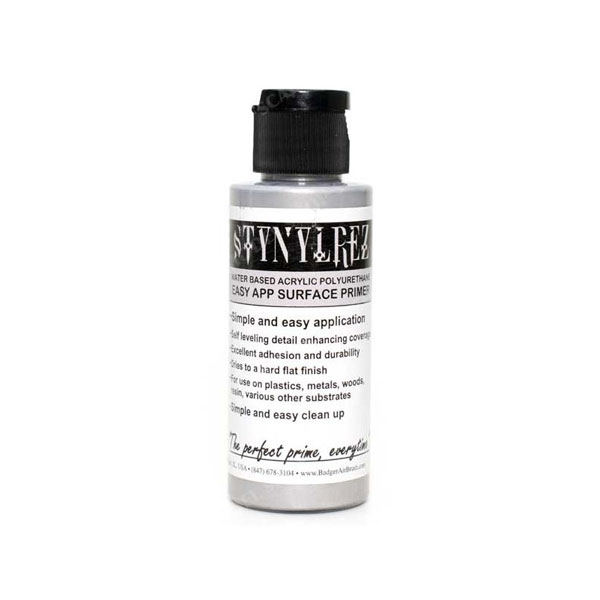 Stynylrez Water-Based Acrylic Primer Metal 2oz. Bottle