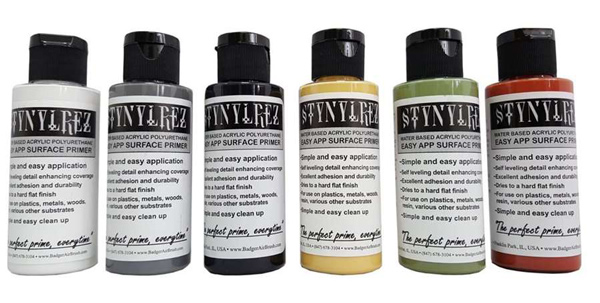 Stynylrez Water-Based Acrylic Primer 2oz 6-Pack