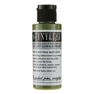 Stynylrez Water-Based Acrylic Primer Olive Green 4oz. Bottle