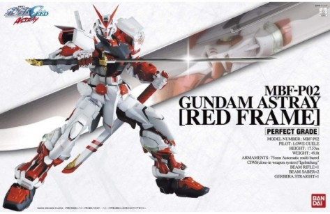 Perfect Grade Series: MBFP02 Gundam Astray Red Frame
