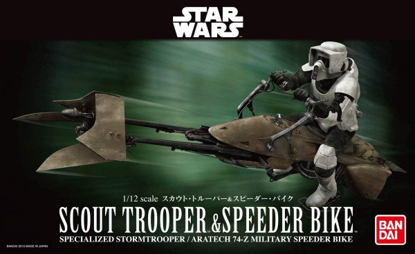 Star Wars: Scout Trooper & Speeder Bike