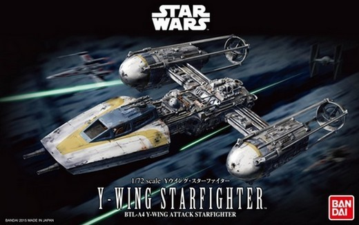Star Wars A New Hope: Y-Wing Starfighter