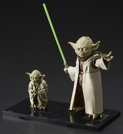 Star Wars: Yoda Figures (2 Snap Kits)