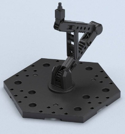 Action Base 5 Black Display Stand