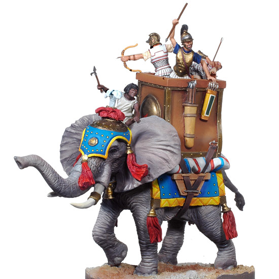 The Battle of Zama: Carthaginian War Elephant