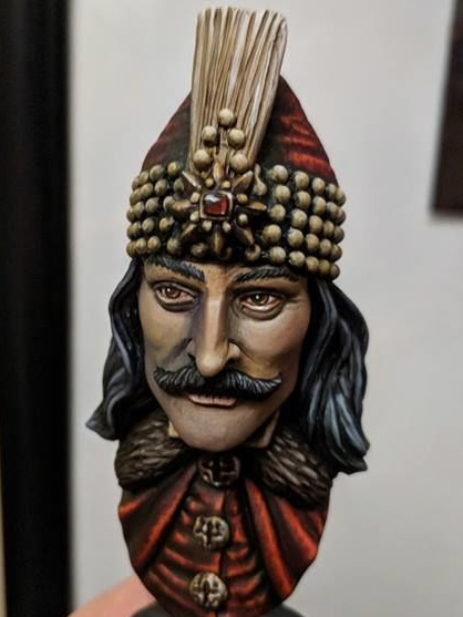 microMANIA - Vlad the Impaler Bust