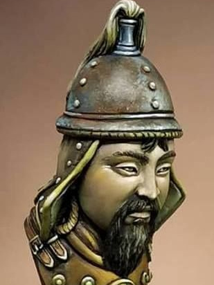 microMANIA - Genghis Khan Bust