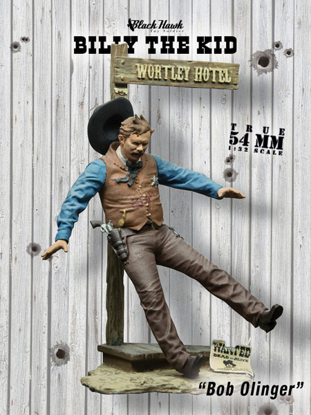 Billy the Kid: Bob Olinger - ONLY 1 AVAILABLE AT THIS PRICE