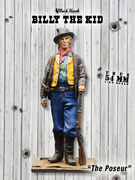 Billy the Kid: The Poseur - ONLY 1 AVAILABLE AT THIS PRICE