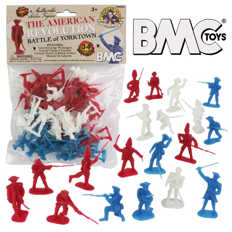 American Revolution Battle of Yorktown Bagged Figures