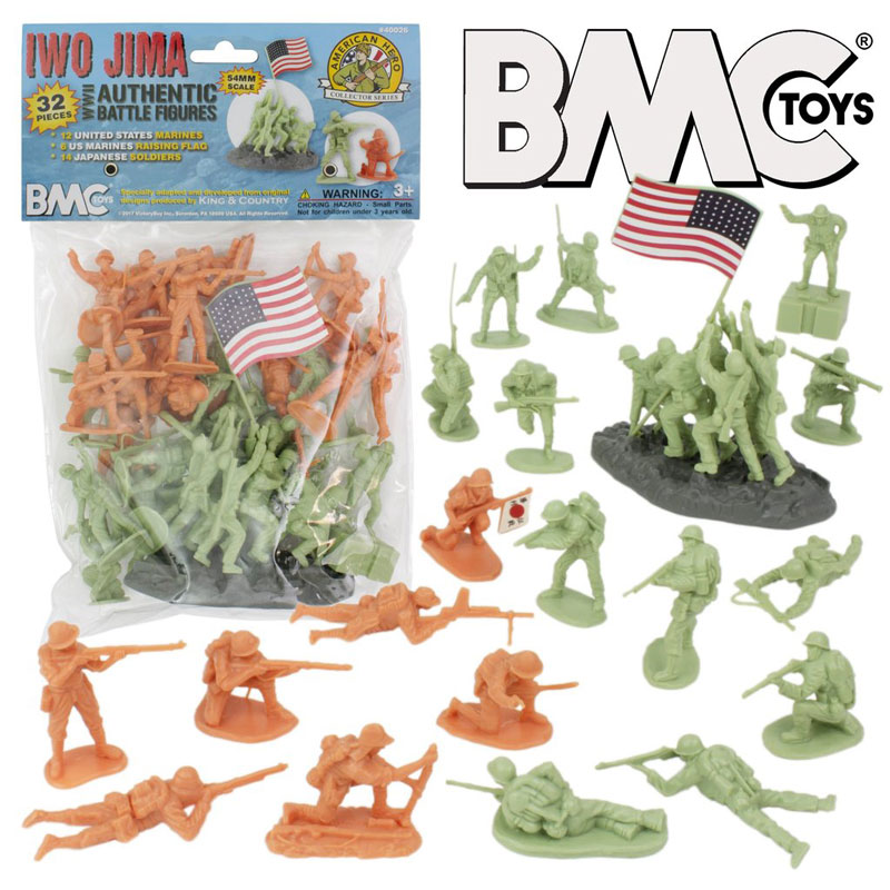 WW2 Iwo Jima Plastic Army Men