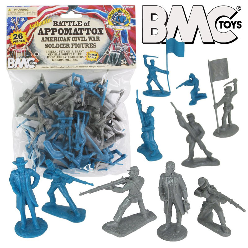 Battle of Appomattox Bagged Figure Set