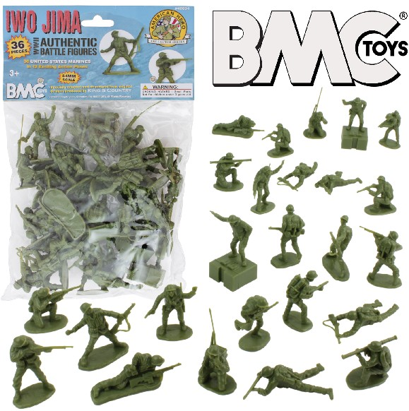 Iwo Jima US Marines Figure Playset