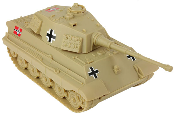 WWII German King Tiger Tank- Tan
