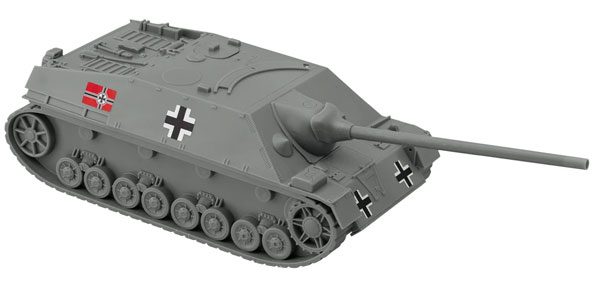 WWII German Jagdpanzer IV Tank Destroyer - Gray