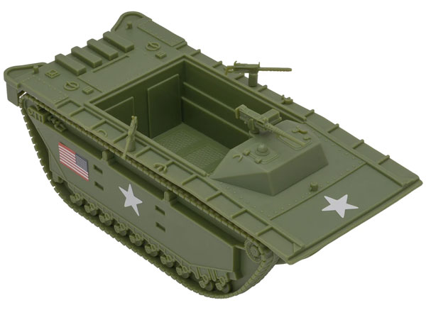 WWII USMC Amtrac LVT - New OD Green Color