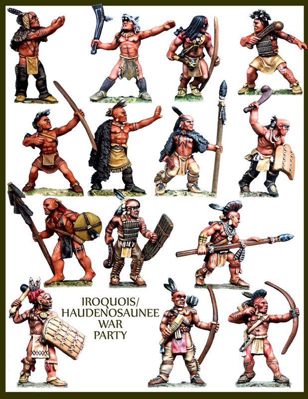 Iroquois Warband